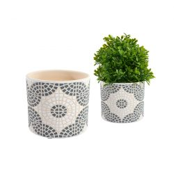 Medium-Grey-Mosaic-Plant-Pot