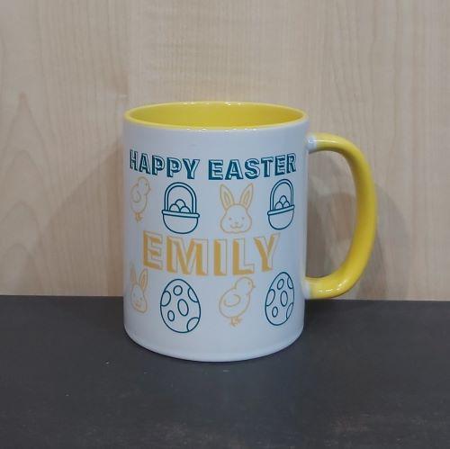 Personalised Easter Mug.