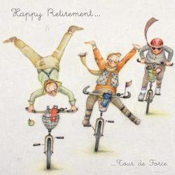 Happy Retirement Male Card