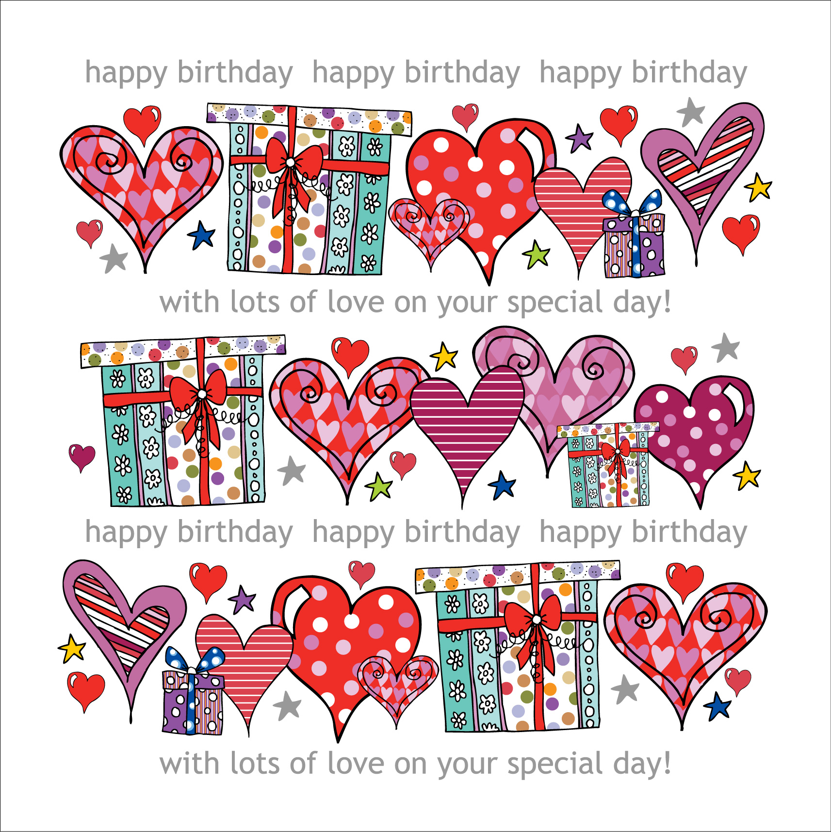 Happy Birthday Special Day Card