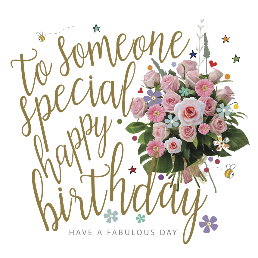 Happy Birthday To Someone Special Card
