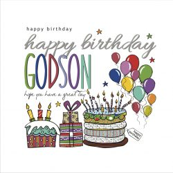 Happy Birthday Godson Card