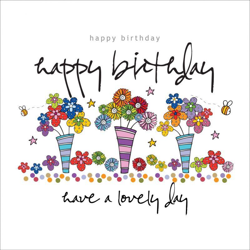 Happy Birthday Lovely Day Card