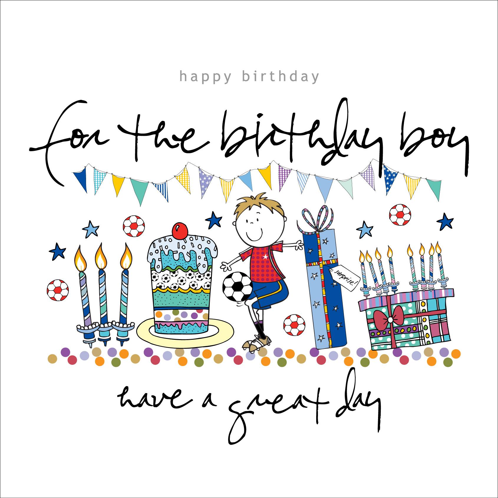 Happy Birthday Boy Card