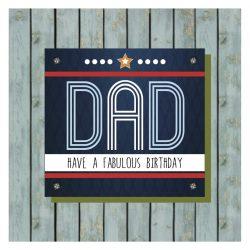 Dad Happy Birthday Card