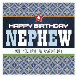 Nephew Happy Birthday Card