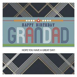 Grandad Happy Birthday Card