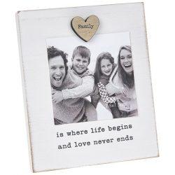 Caring Words Magnet Frame Family