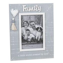 ool Grey Tassel Frame Family