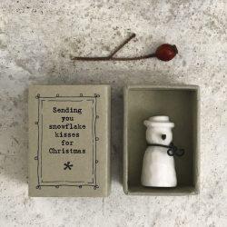 Matchbox-Snowman