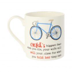 Dandelion Stationery Cyclists Biggest Fear Mug