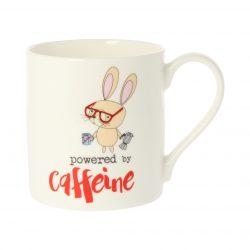 Dandelion Stationery Powered By Caffeine Mug